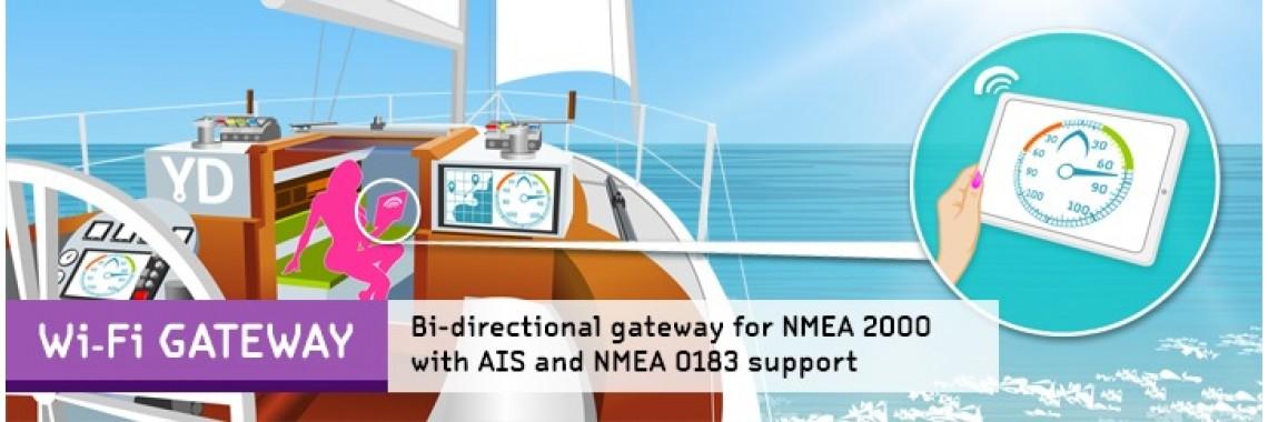 NMEA2000 Wi-Fi Gateway YDWG